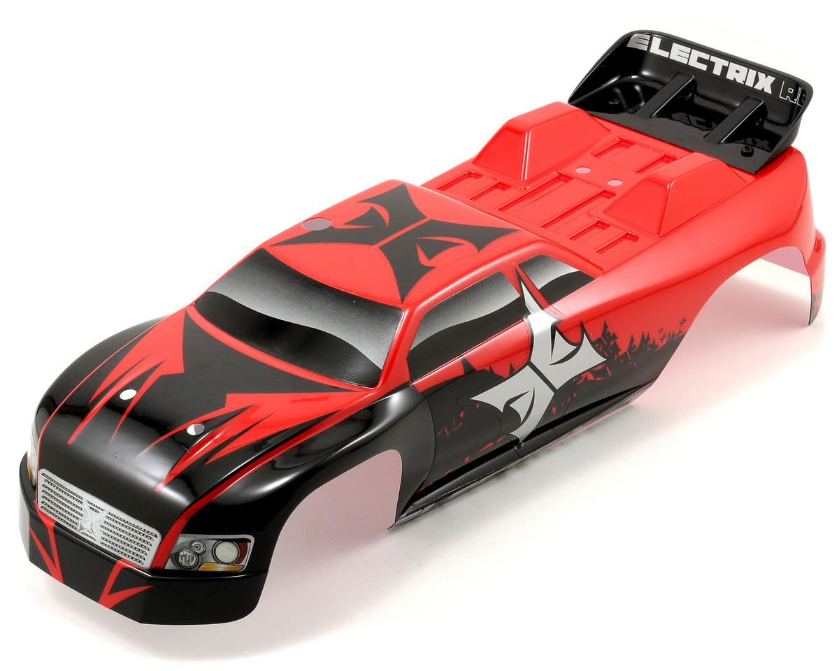 ECX RC Painted Circuit 1/10 Truck Body (Red)