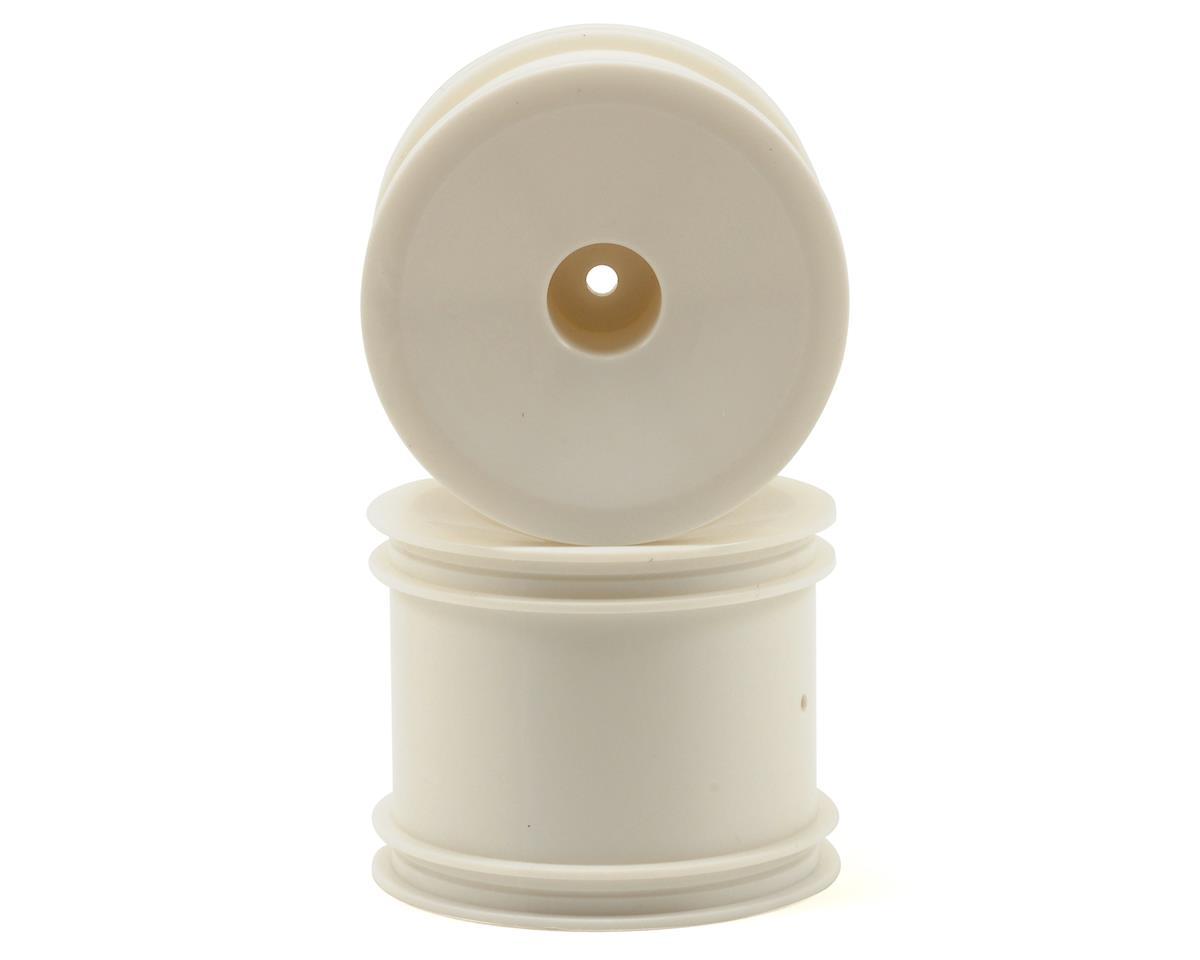 ECX RC Dish Wheel Set (White) (2)