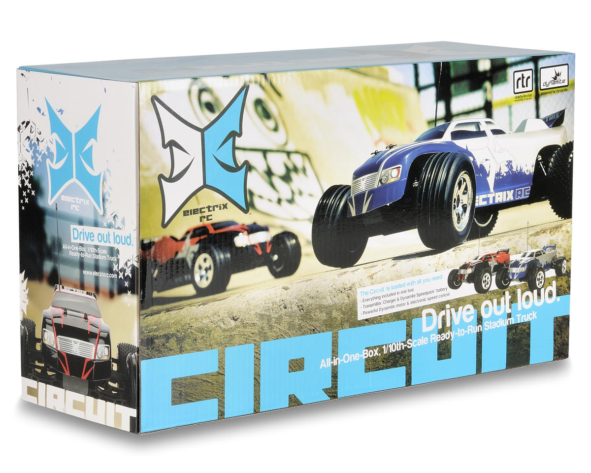 ECX RC Circuit 1/10th Stadium Truck (Gray)