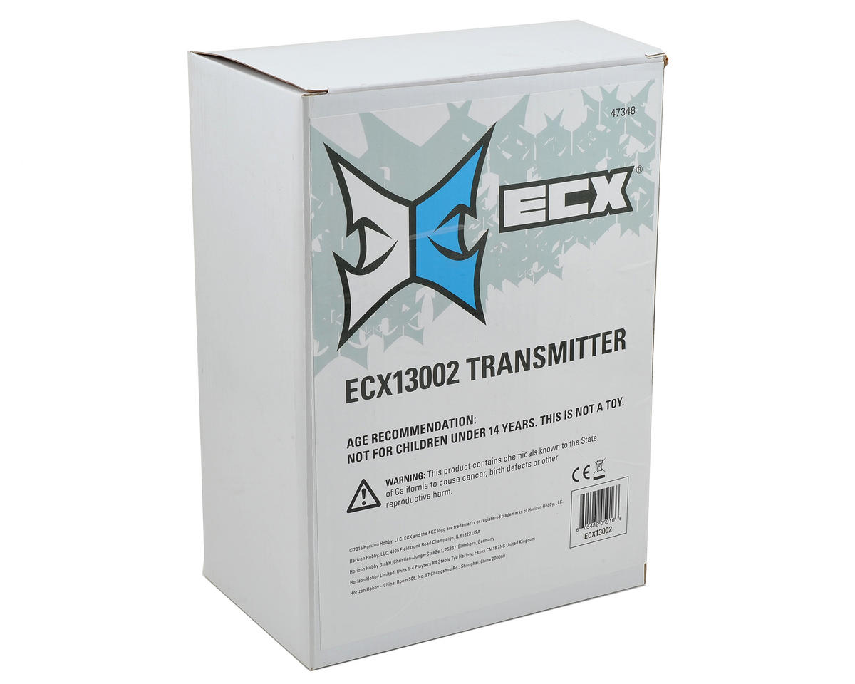 ECX V3 2.4GHz 2-Channel Transmitter