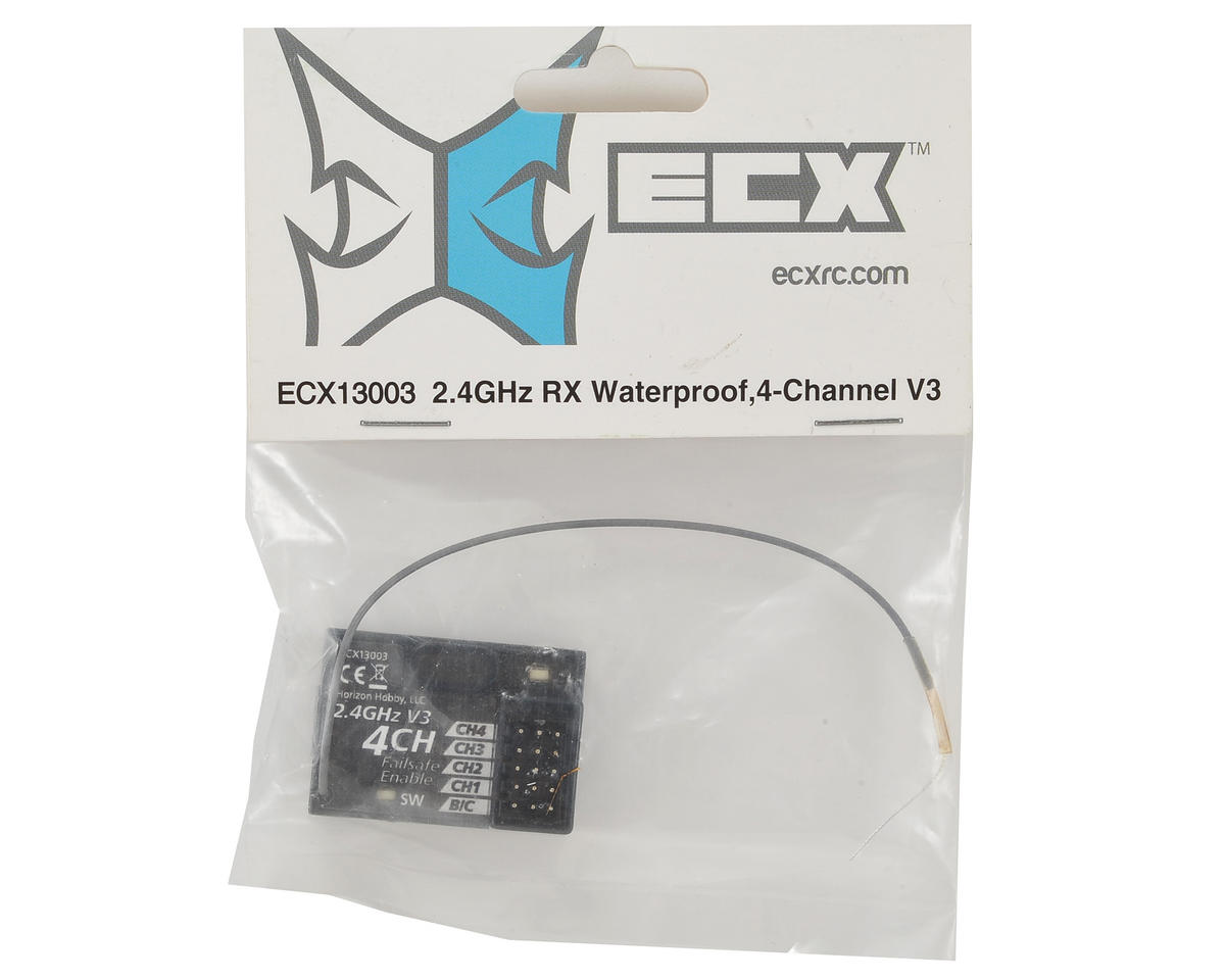 ECX 2.4GHz 4-Channel Waterproof Receiver (V3)