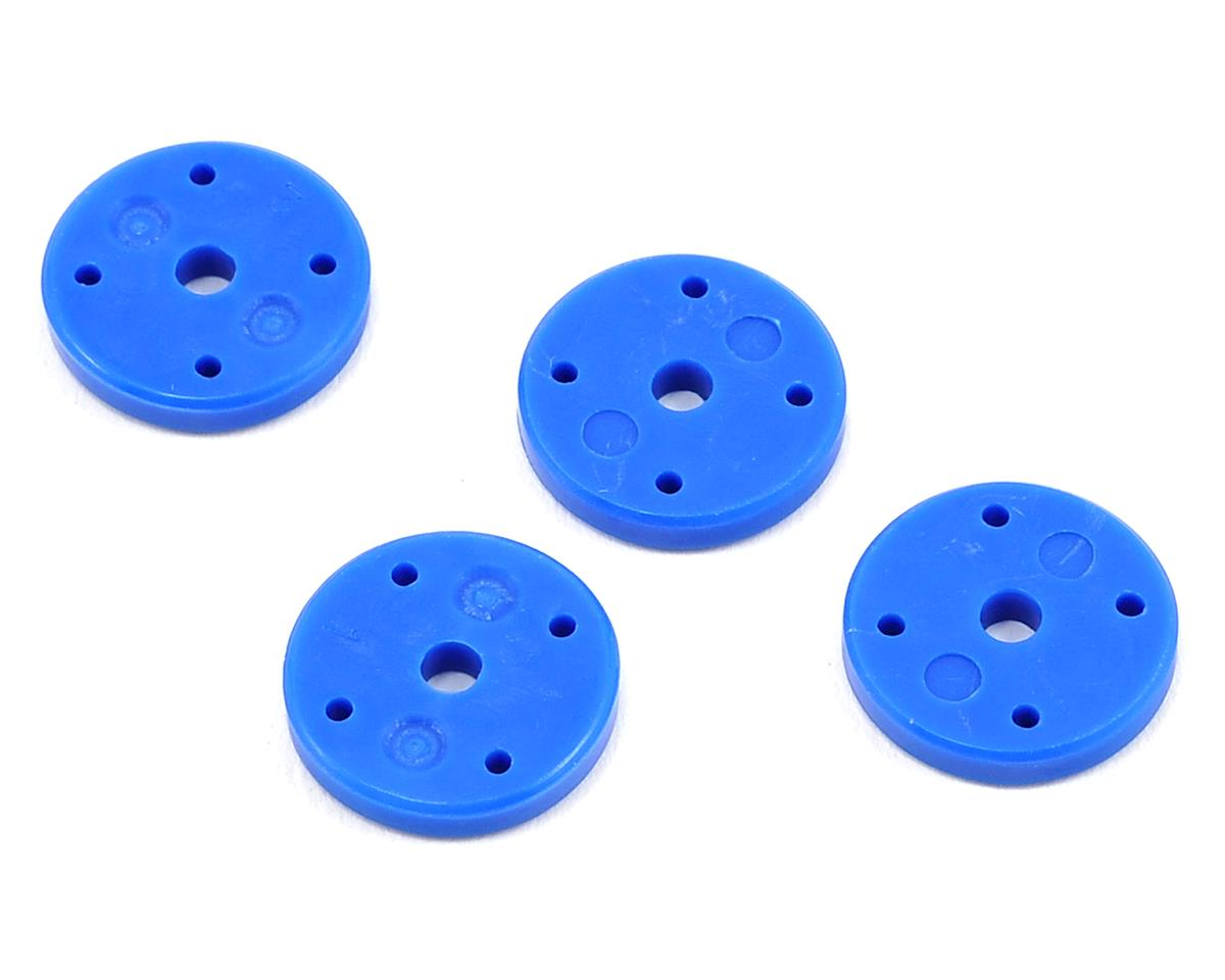 ECX Revenge V2 Mega-Bore Shock Piston (4) (Blue - 1.2 x 4)
