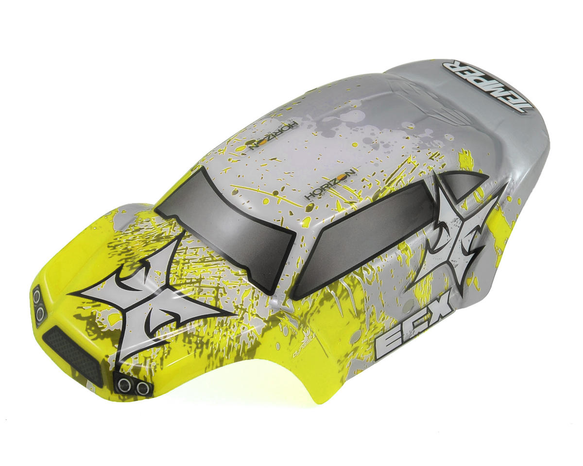 ECX Temper 1/24 Pre-Painted Body Set (Yellow/White)