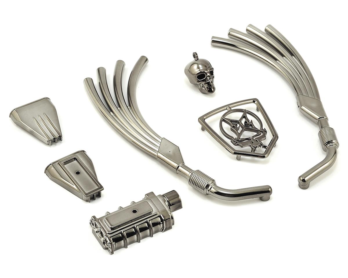 ECX Barrage Doomsday Motor, Exhaust & Grill Parts Set