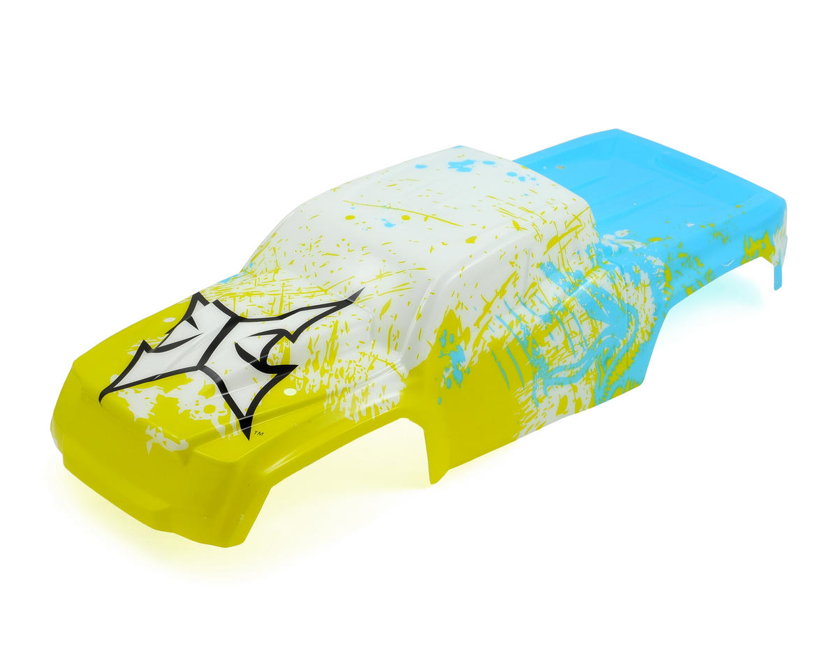 ECX 1/10 Ruckus Silk Screened Body (Yellow/Blue)