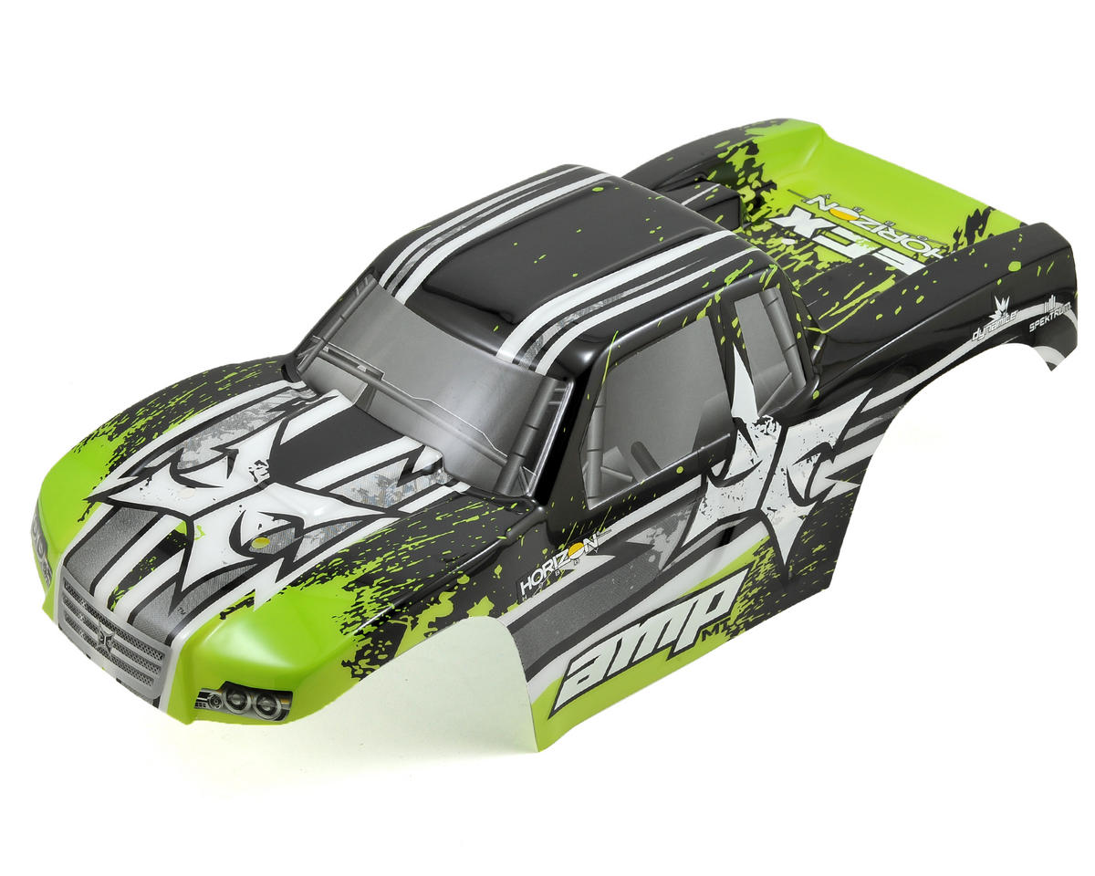ECX AMP Monster Truck Body (Black/Green)