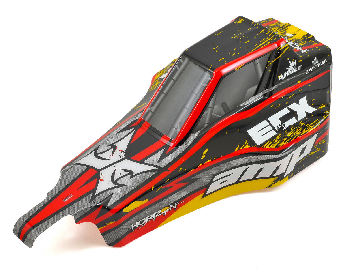 ECX AMP Desert Buggy Body (Black/Yellow)