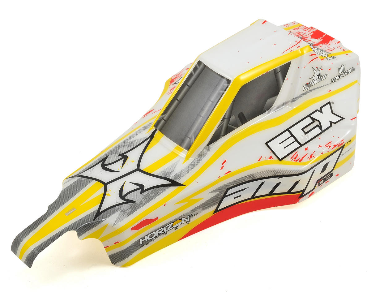ECX AMP Desert Buggy Body (White/Red)