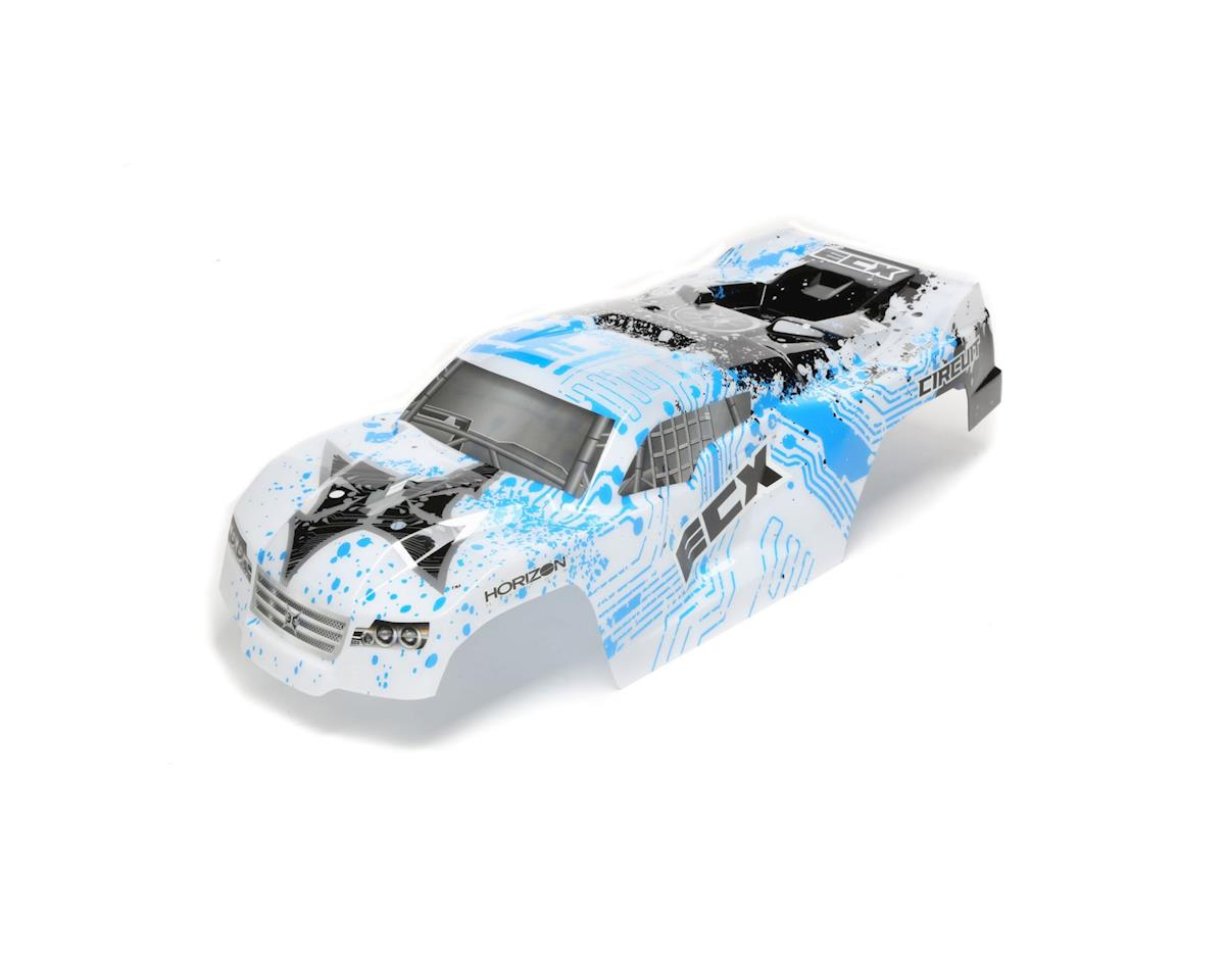 ECX Body, White/Blue: 1/10 2wd Circuit