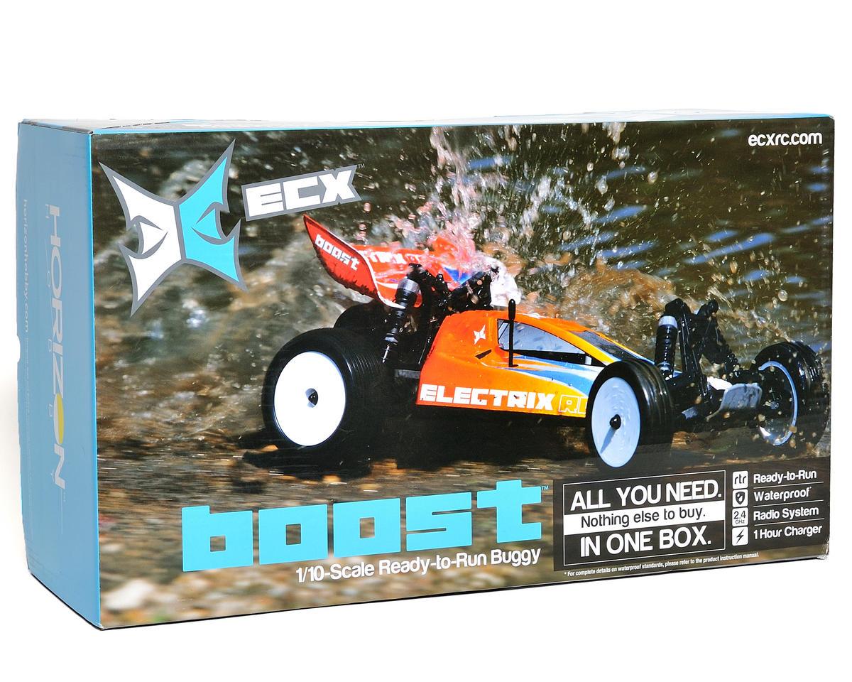 ECX RC Boost 1/10 Scale RTR Electric 2WD Buggy w/2.4GHz Radio (Orange)