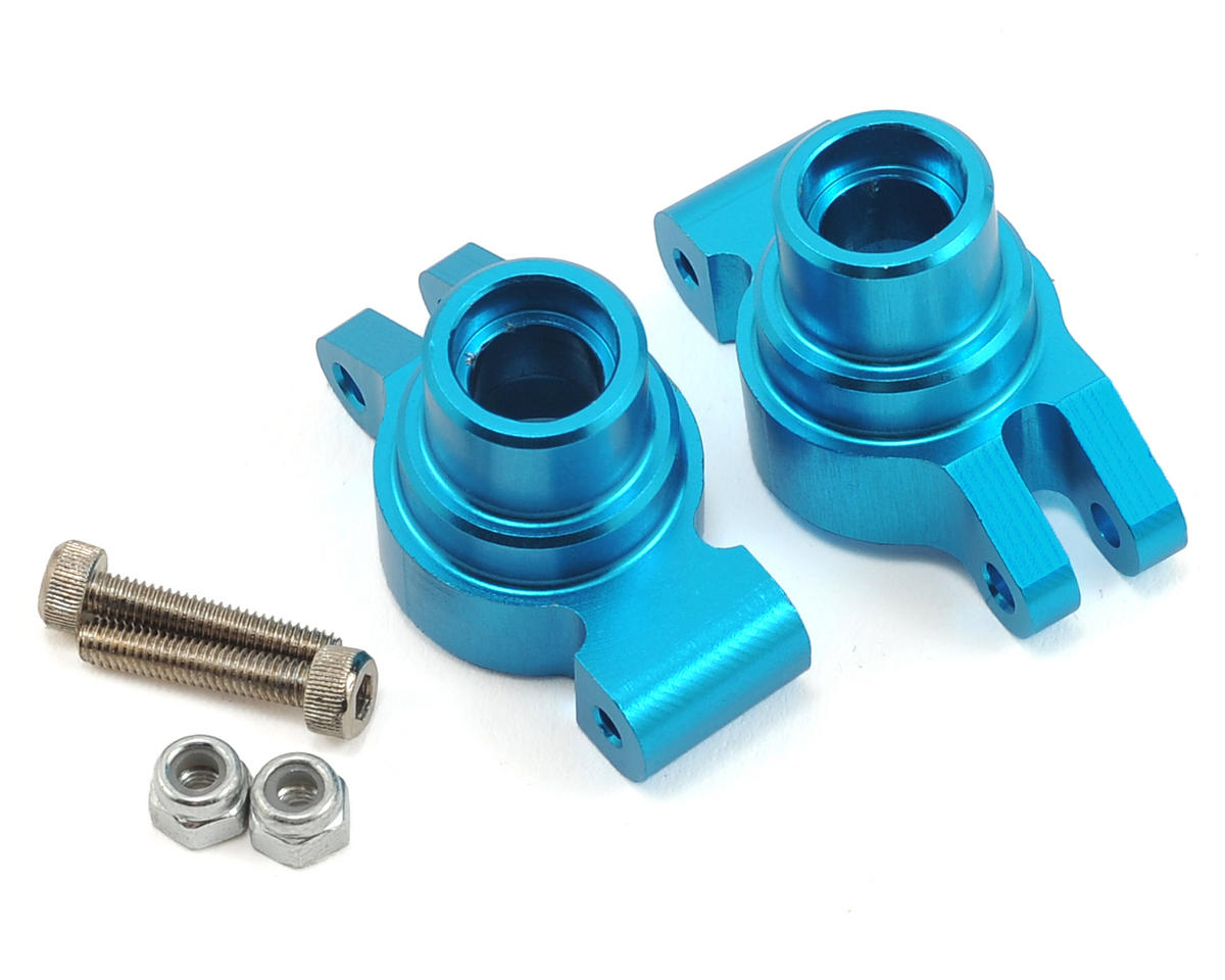 Aluminum 1/18 4WD Rear Hub Set by ECX