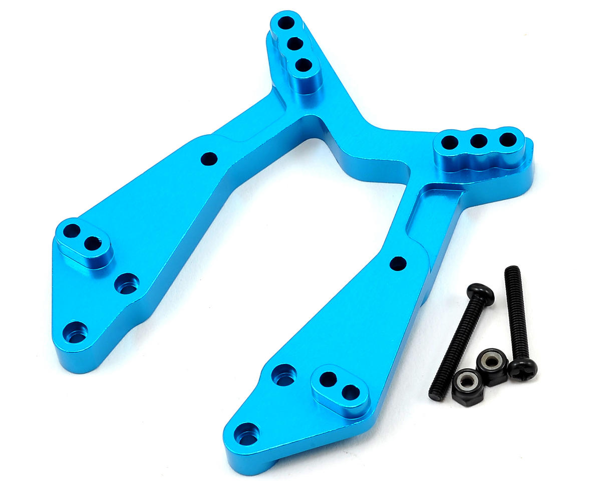ECX Aluminum Front Shock Tower (Blue)