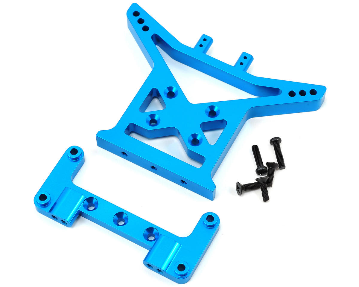 ECX Circuit Aluminum Rear Shock Tower (Blue)