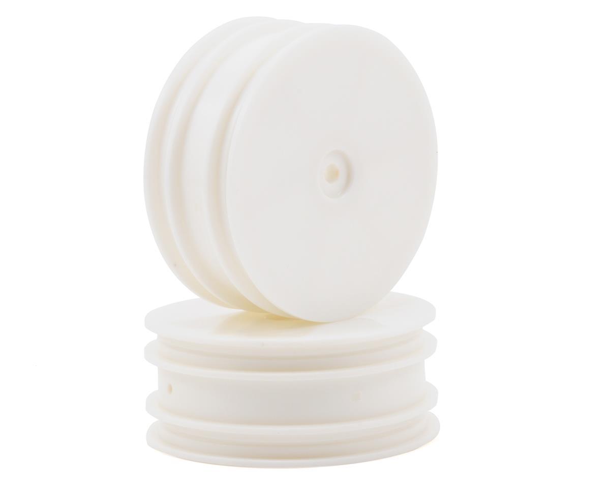 ECX RC Front 1/10 Buggy Dish Wheel Set (White) (2)