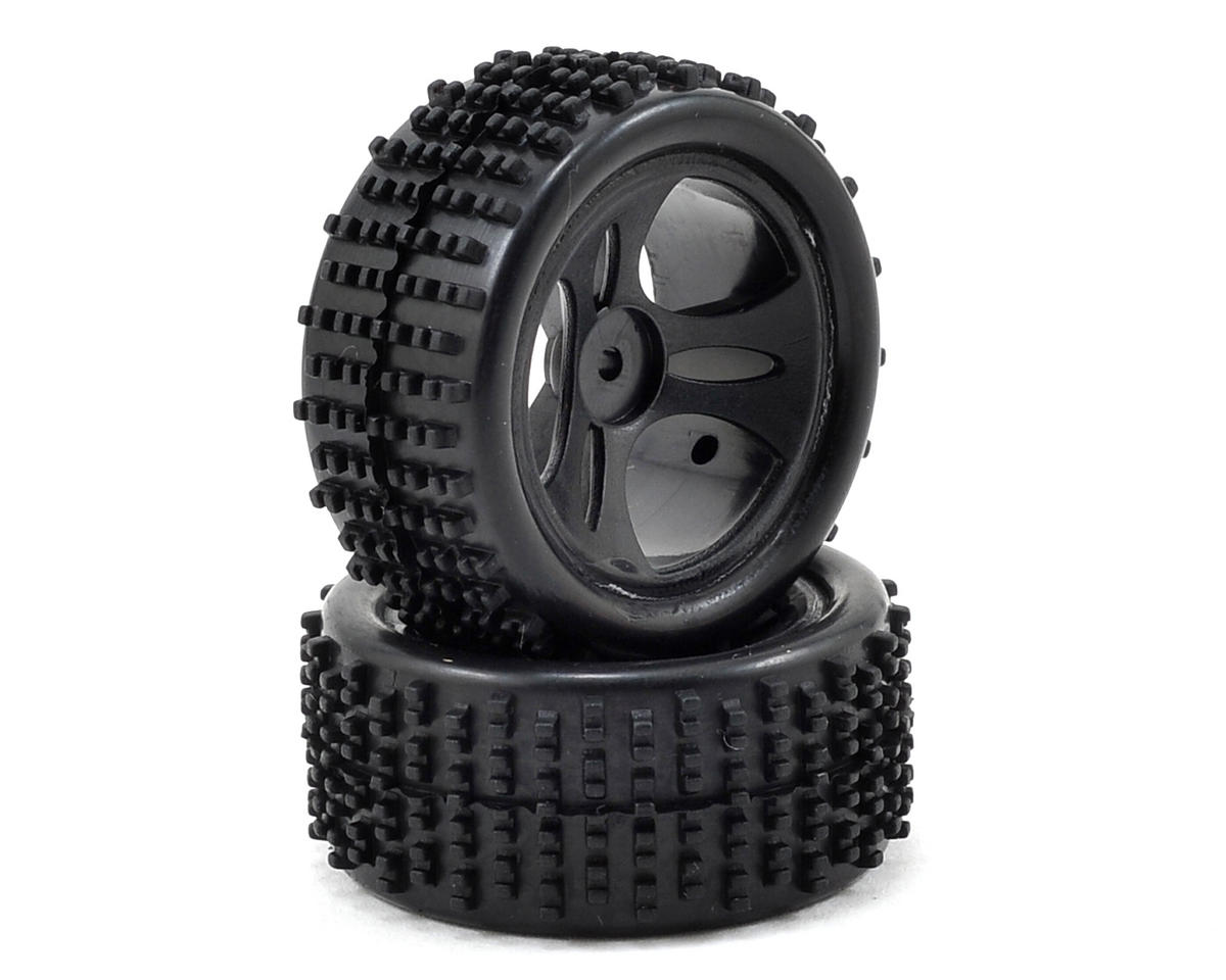 Roost 1/24 Pre-Mounted Tires (2) by ECX