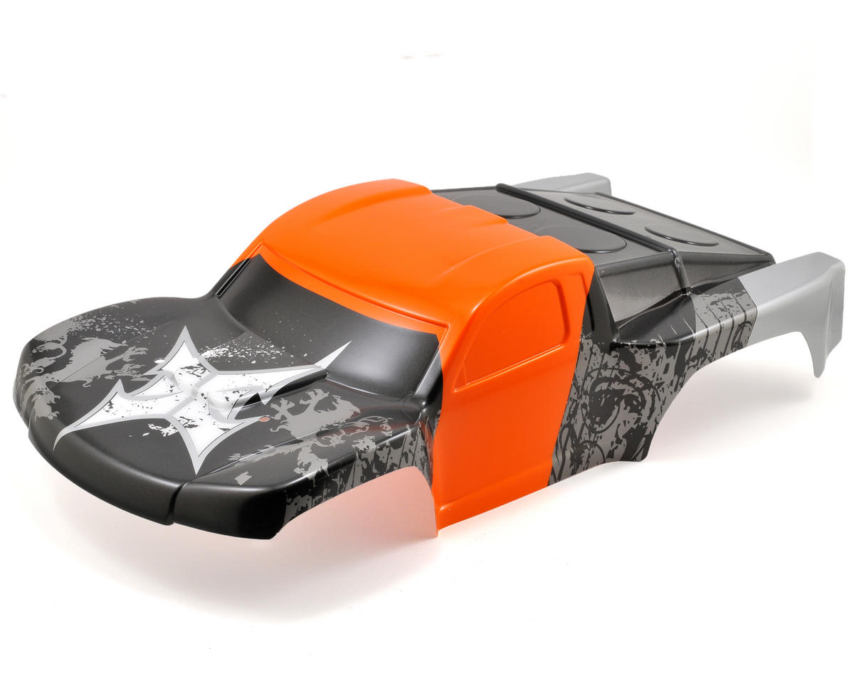 ECX RC Painted Body (Orange/Grey)