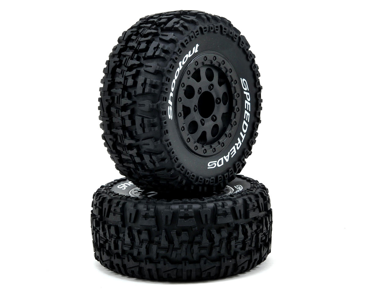 ECX RC Premounted Short Course Tire Set (2)
