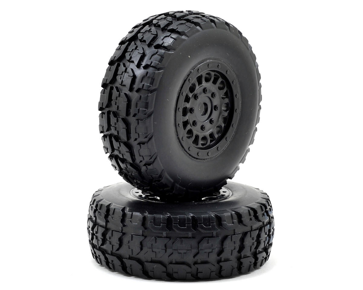 1/18 Torment Front/Rear Premount Tires (2) by ECX