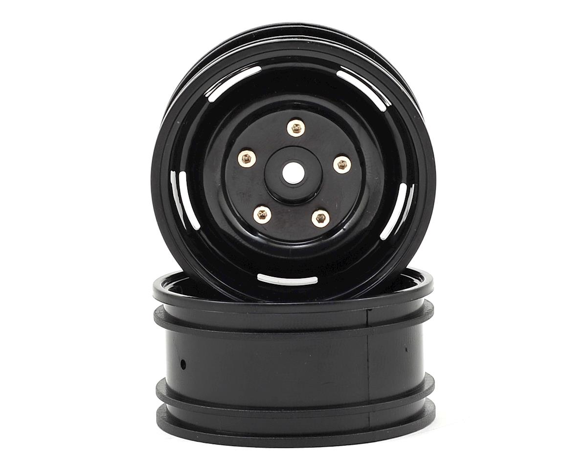 "ECX Barrage 1.9"" Plastic Crawler Wheel (2) (Black)"