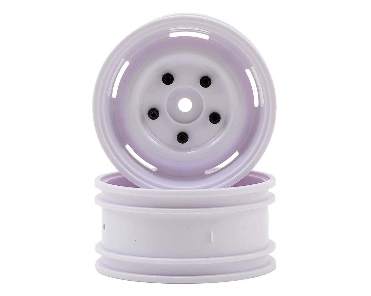 "ECX Barrage 1.9"" Plastic Crawler Wheel (2) (White)"