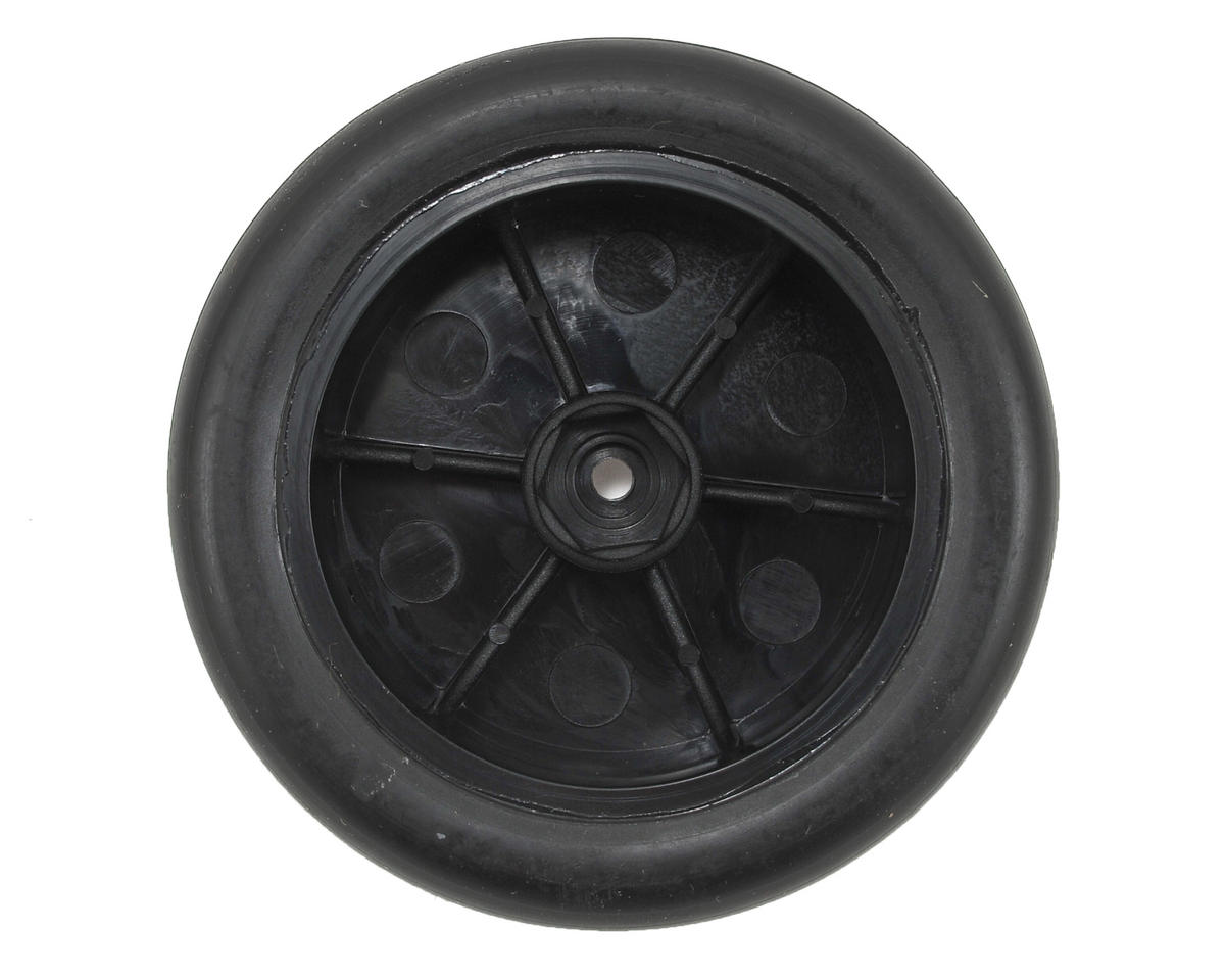 Boost Front Premounted Tire (Black) (2) by ECX