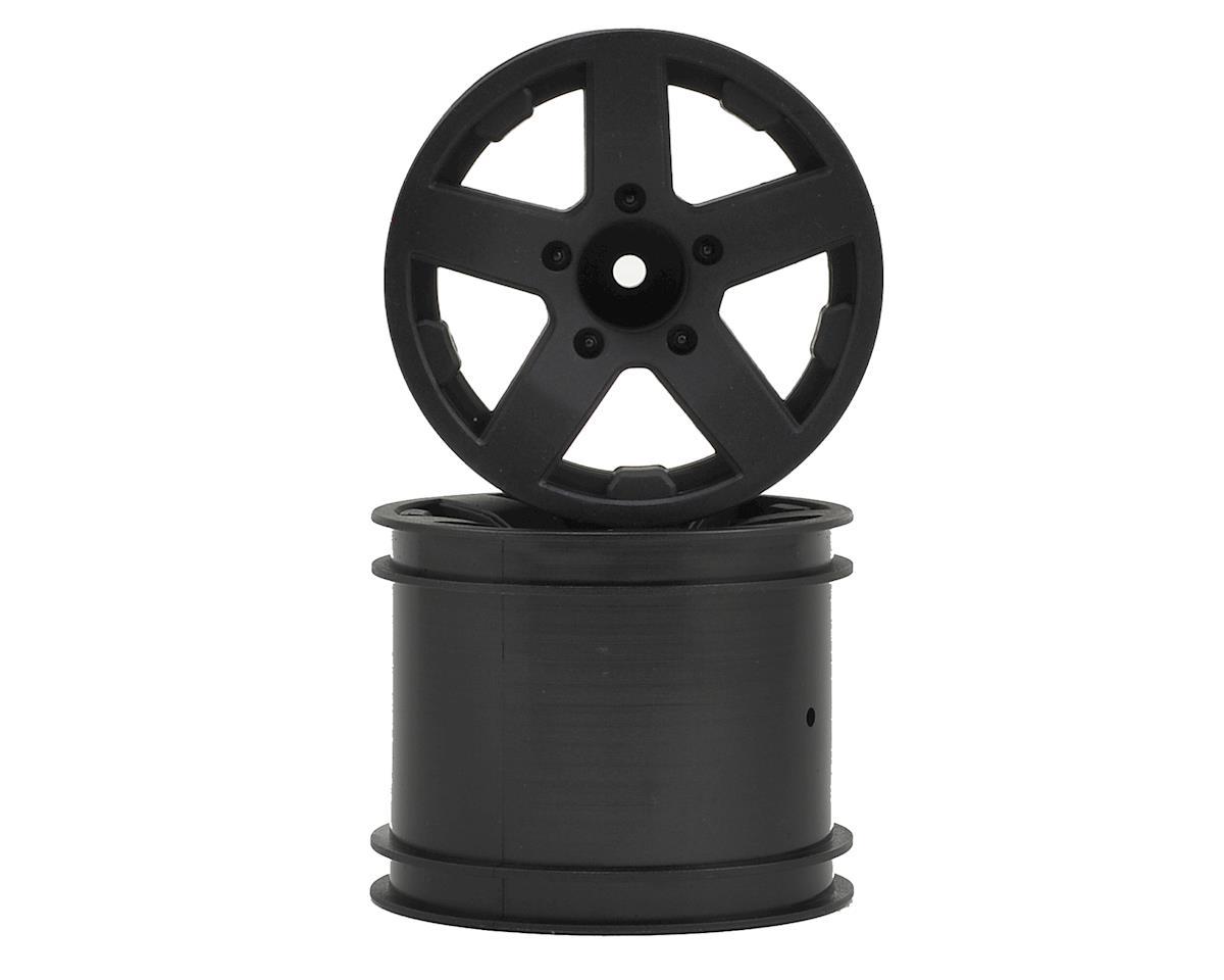 ECX Circuit Front/Rear Wheel (Black) (2)
