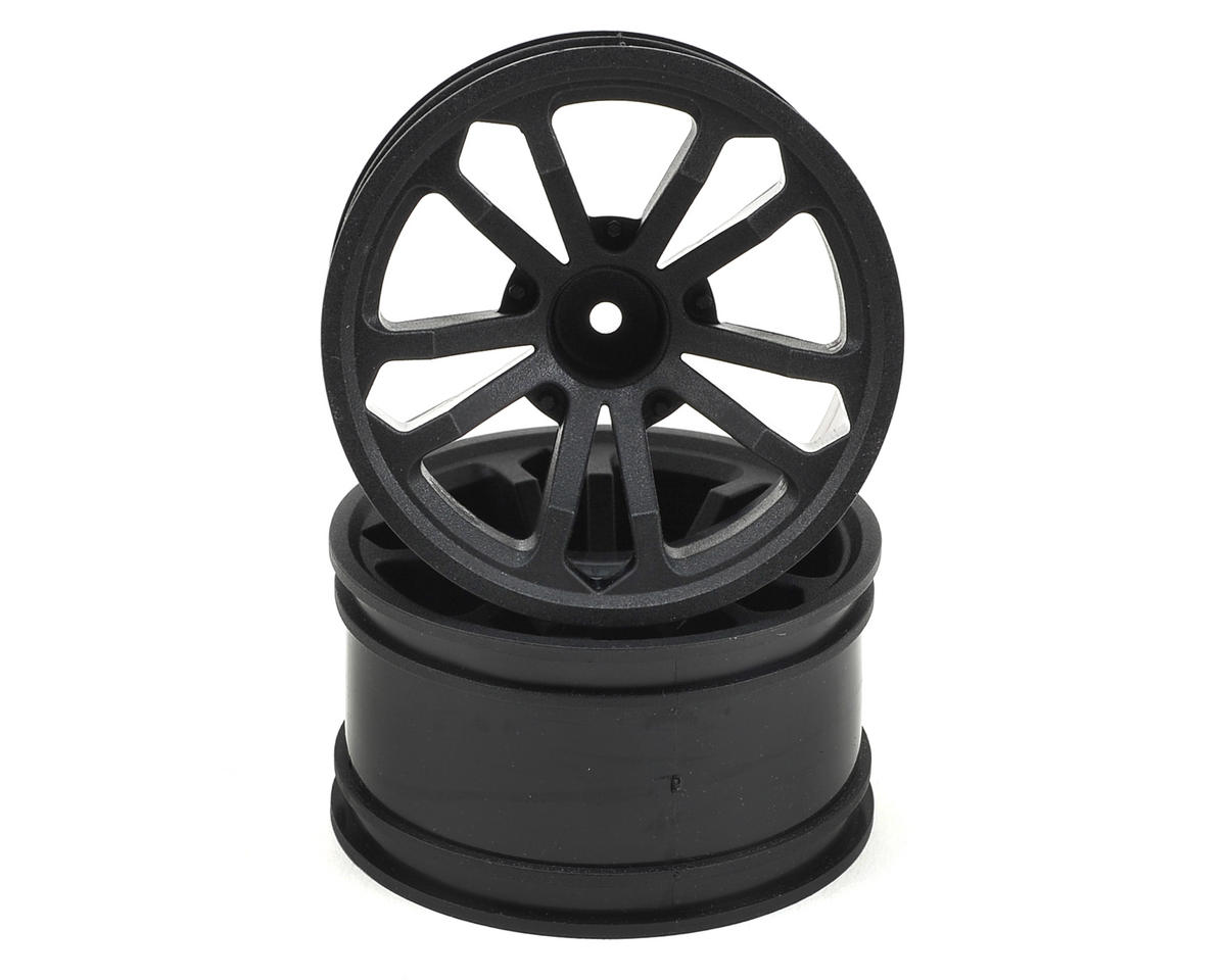 "ECX 4wd Circuit 2.8"" Split Spoke Wheel (2) (Black)"