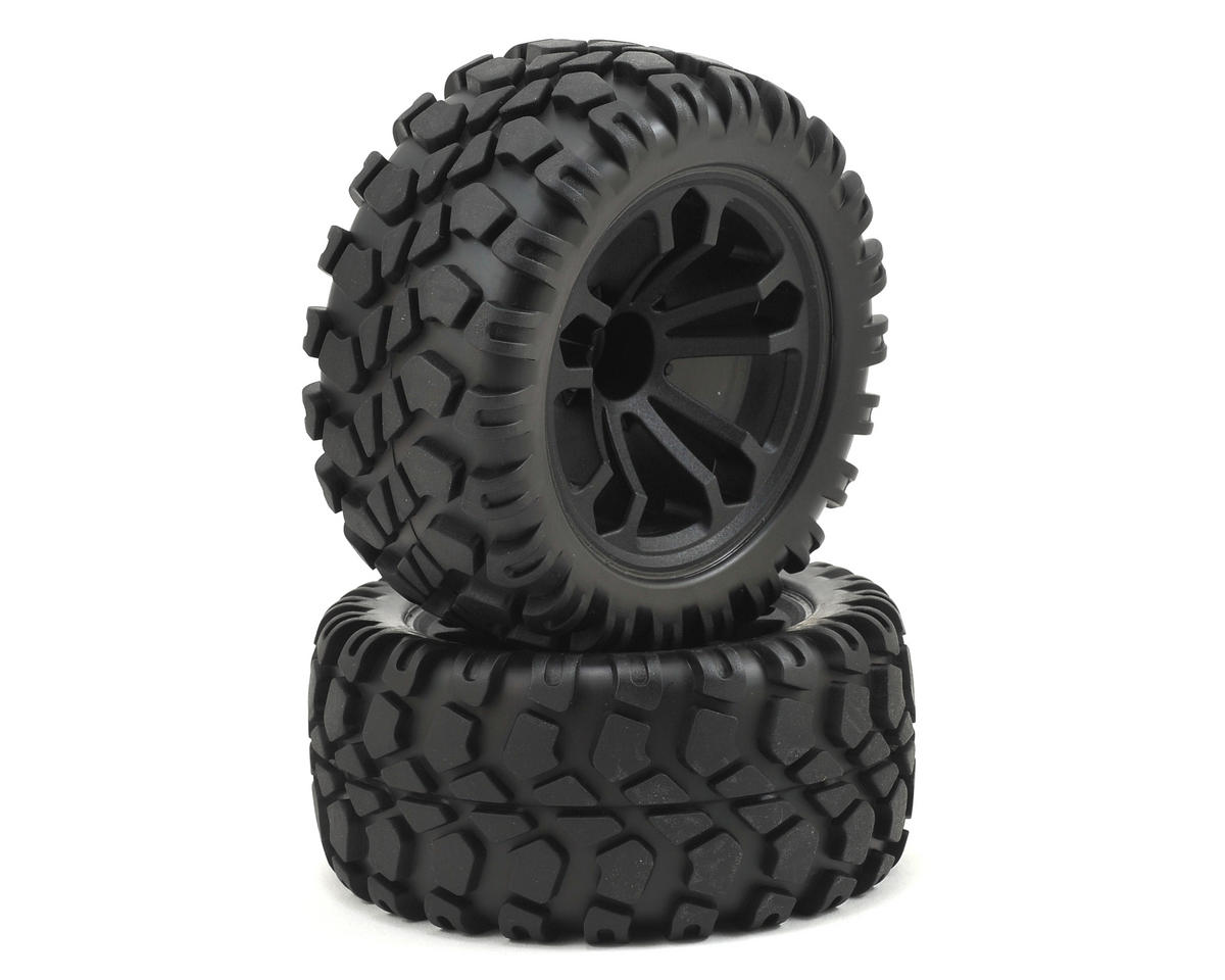 ECX Circuit 4WD Pre-Mounted Tire (2)
