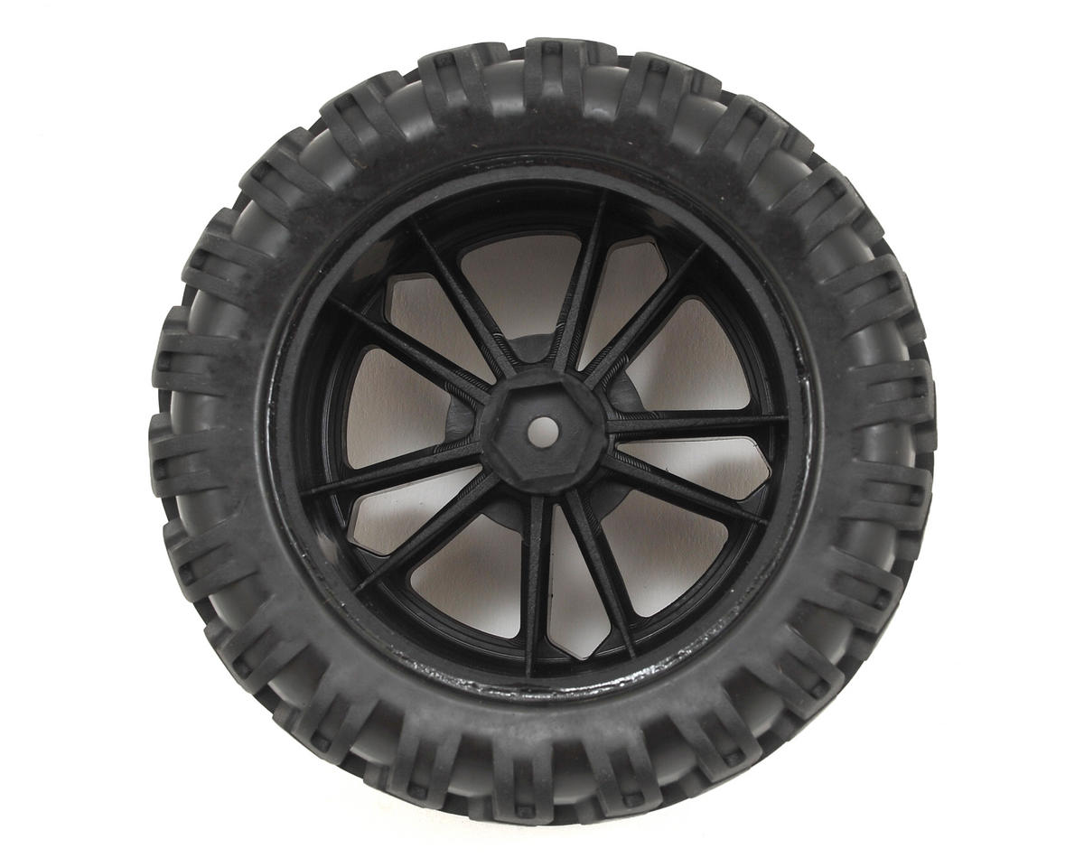 Circuit 4WD Pre-Mounted Tire (2) by ECX
