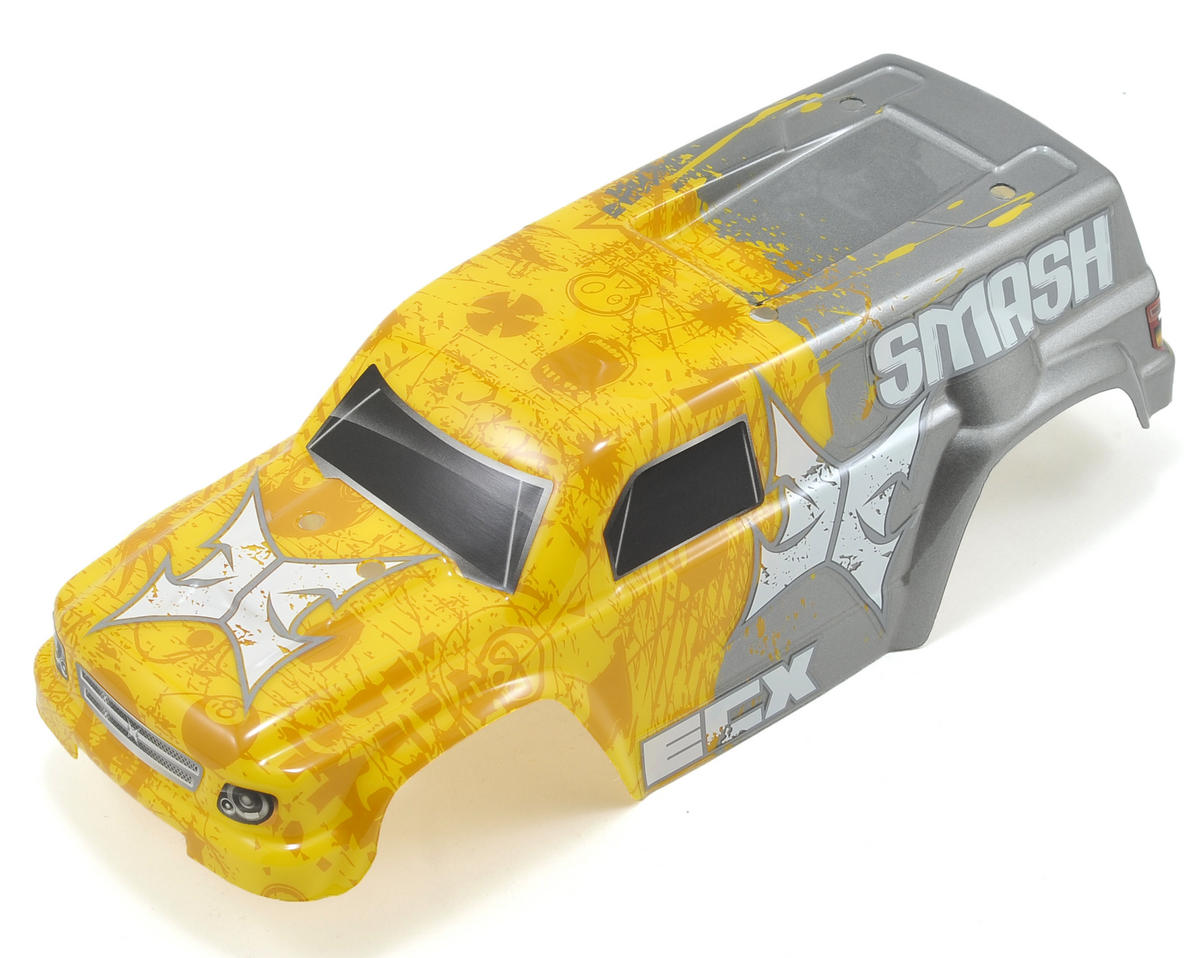ECX RC Smash Pre-Painted Body (Yellow)