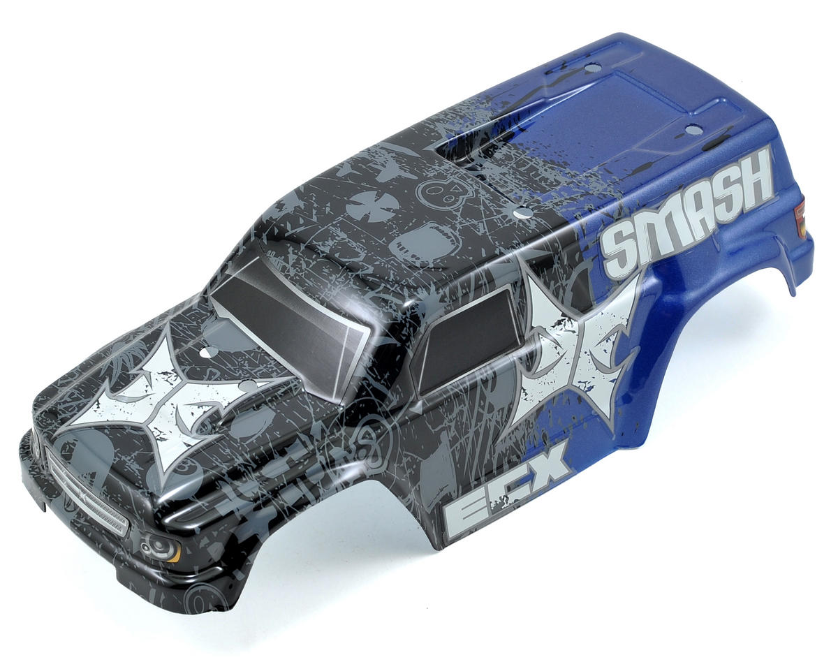 ECX RC Smash Pre-Painted Body (Blue)