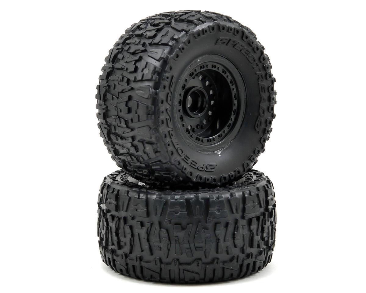ECX RC Pre-Mount Front Tire Set (2)