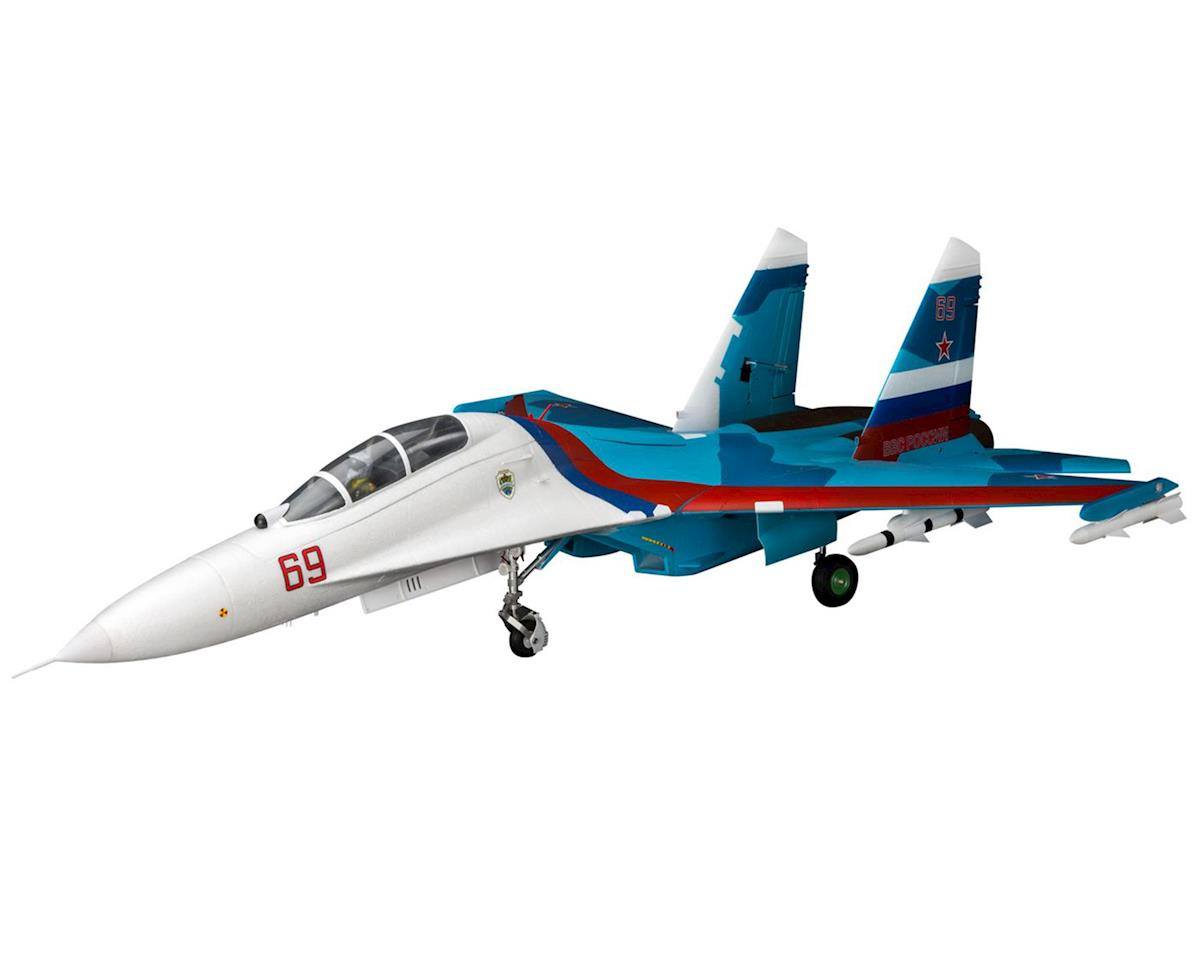 E-flite Su-30 Twin 70mm EDF BNF Basic Electric Ducted Fan Jet (1100mm)