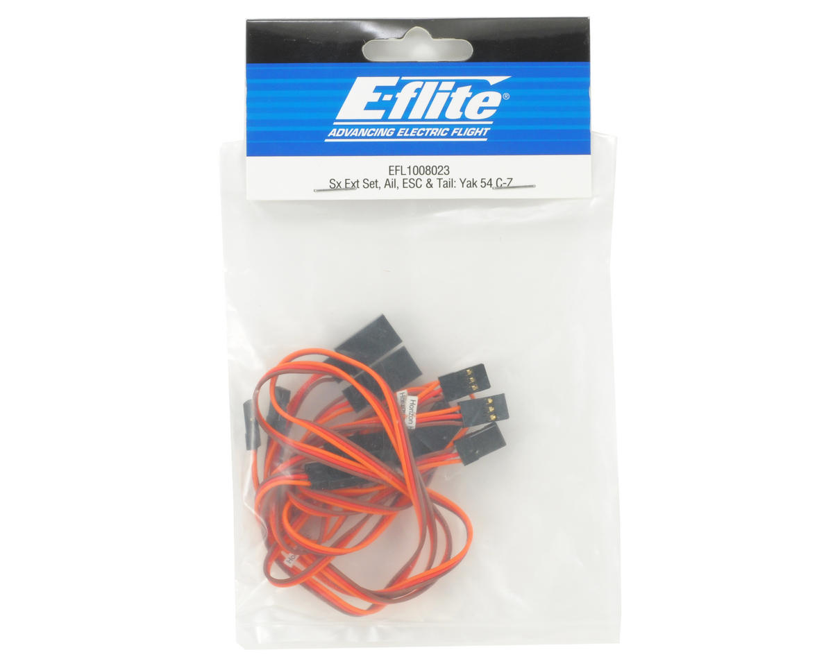 E-flite Servo Extension Set (Aileron, ESC & Tail)
