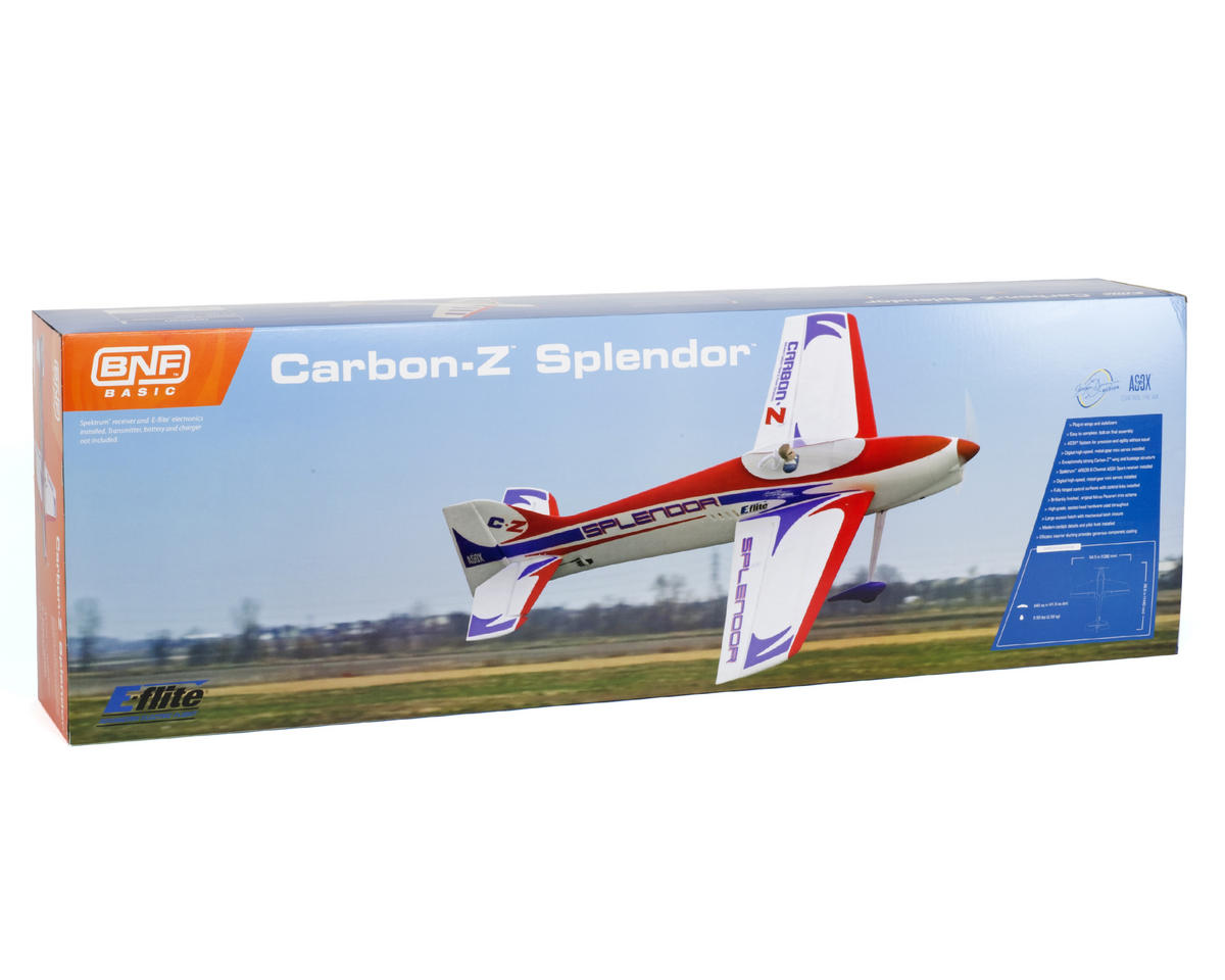 E-flite Carbon-Z Splendor Bind-N-Fly Basic Electric Airplane