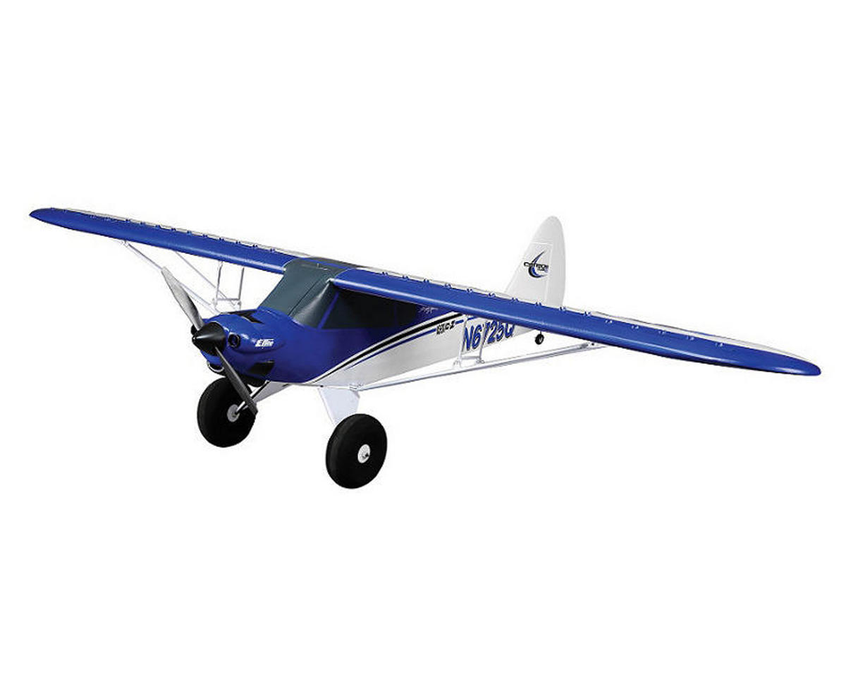 Carbon-Z Cub Bind-N-Fly Basic Electric Airplane by E-flite