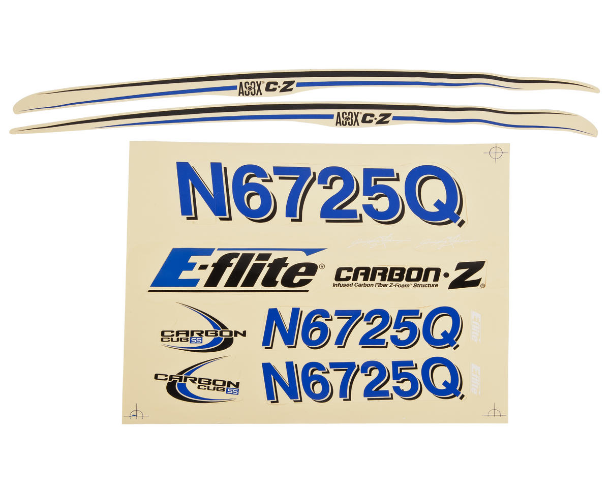E-flite Carbon-Z Cub Decal Set