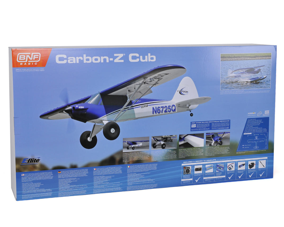 E-flite Carbon-Z Cub Bind-N-Fly Basic Electric Airplane