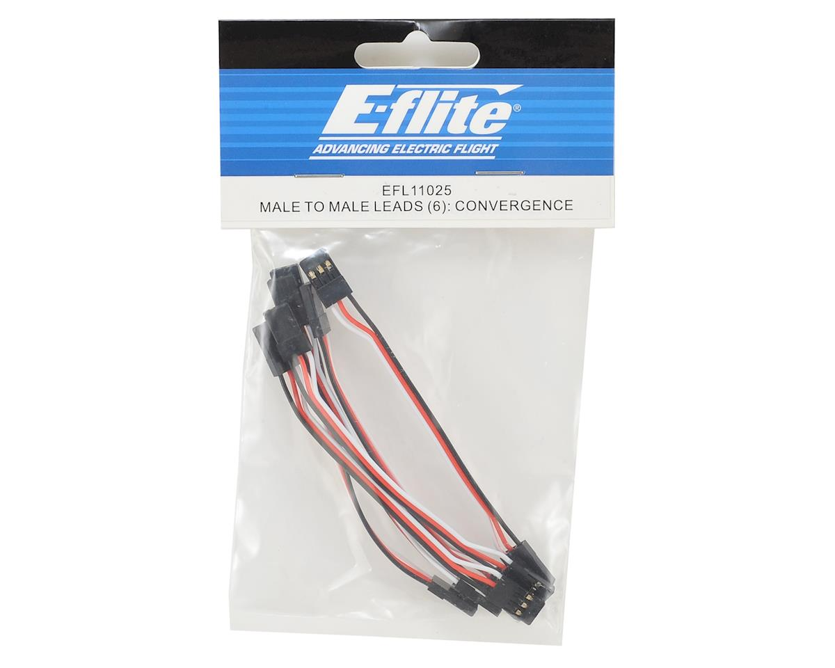 E-flite Male to Male Servo Leads (6)