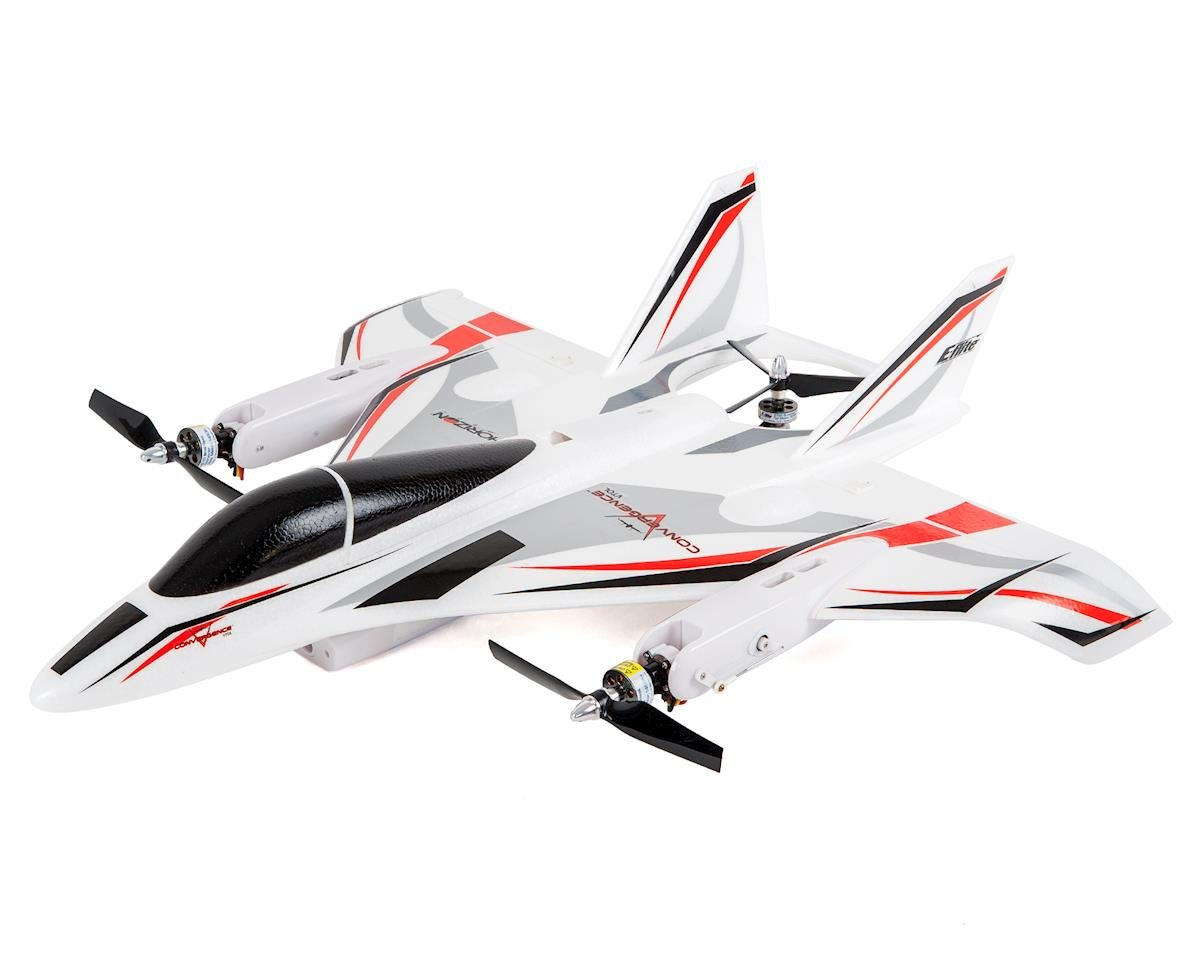 E-flite Convergence VTOL Plug-N-Play Electric Airplane / Multirotor Drone