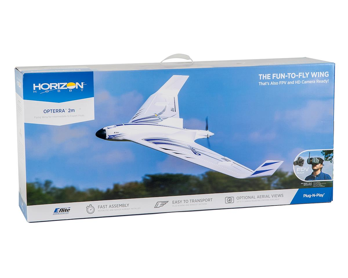 E-flite Opterra PNP Electric Flying Wing (2000mm)
