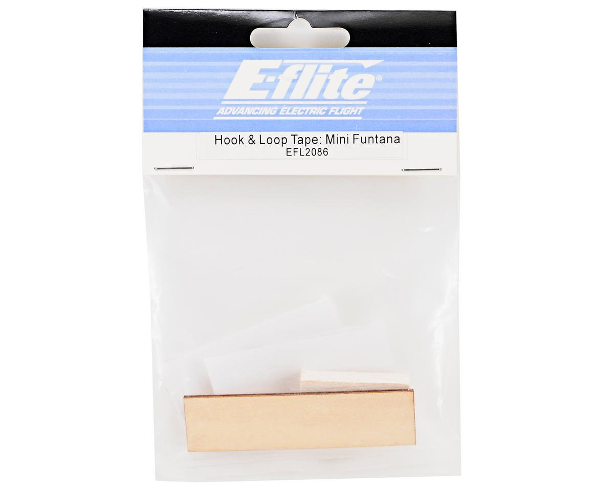 "E-flite 1x1.375"" Hook & Loop Tape (2)"
