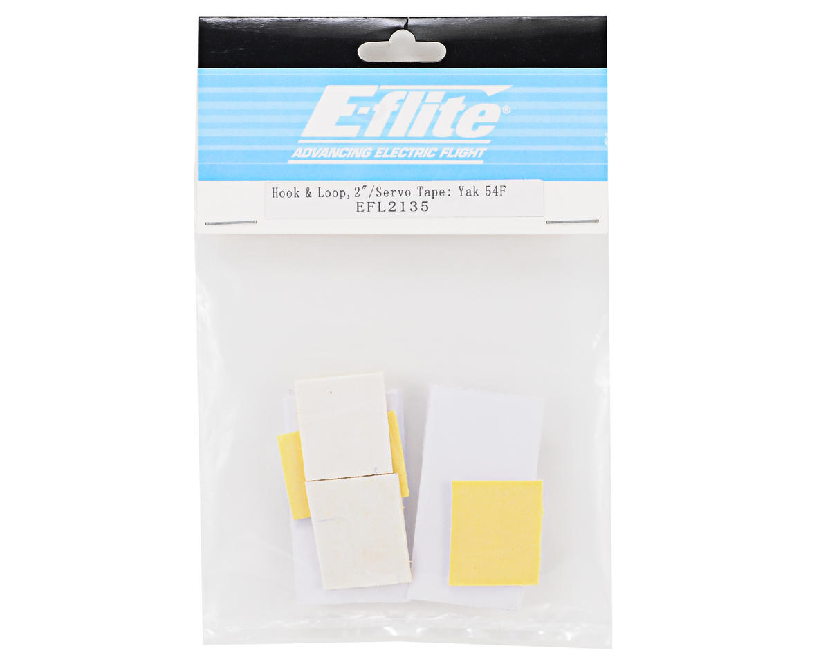 "E-flite 2"" Hook & Loop Tape Set w/Servo Tape"