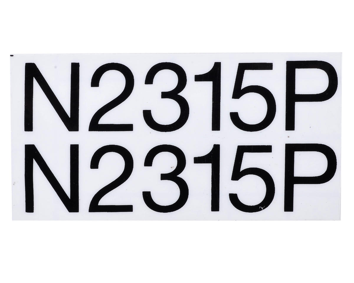 E-flite PA-20 Pacer Decal Set