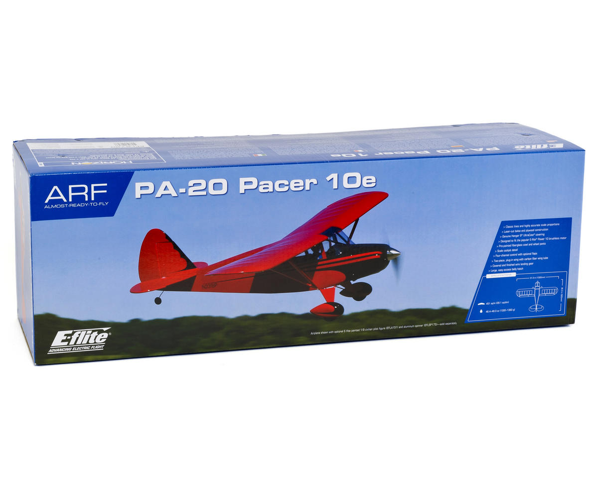 E-flite PA-20 Pacer 10e ARF Electric Airplane