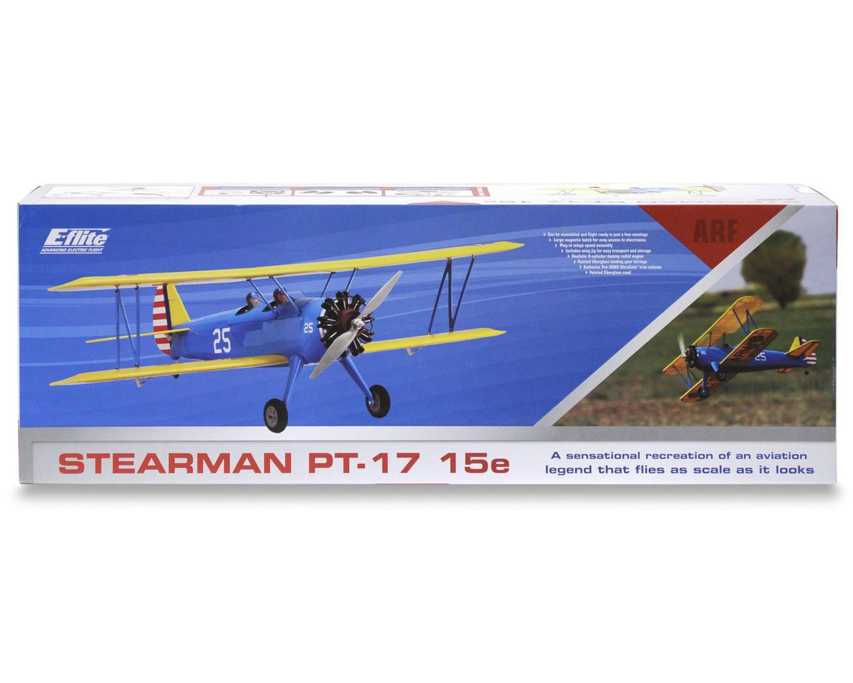E-flite Stearman PT-17 15e ARF