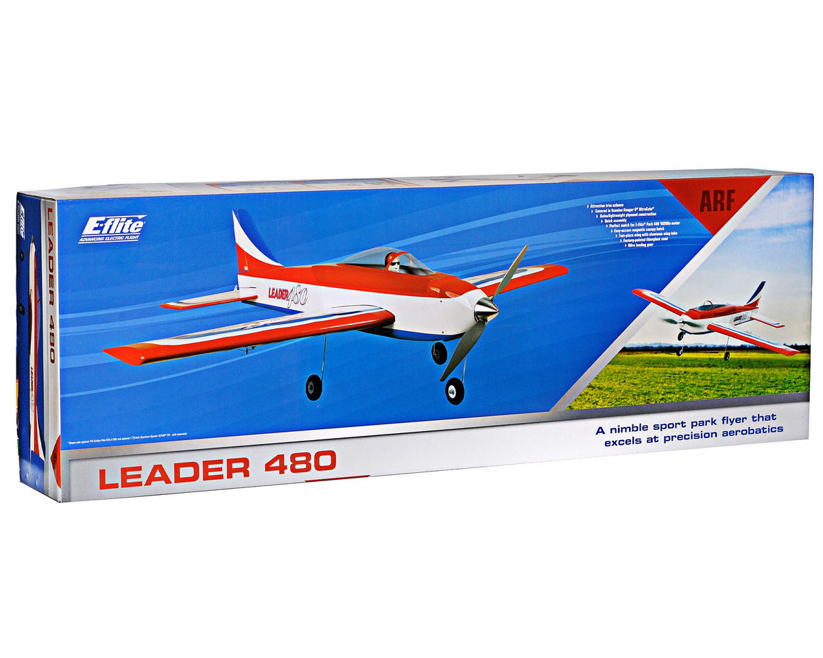 E-flite Leader 480 Park Flyer Airplane Kit