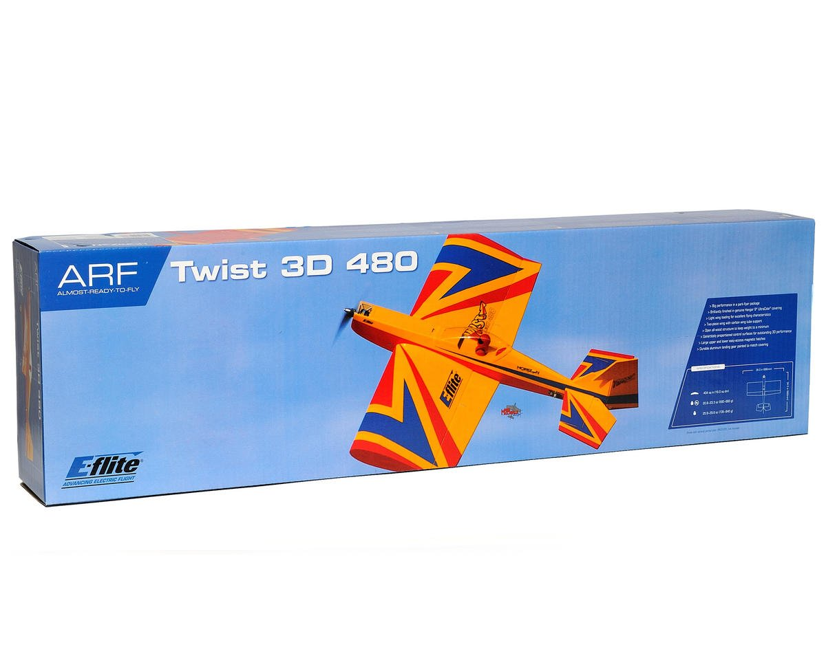 E-flite Twist 3D 480 ARF