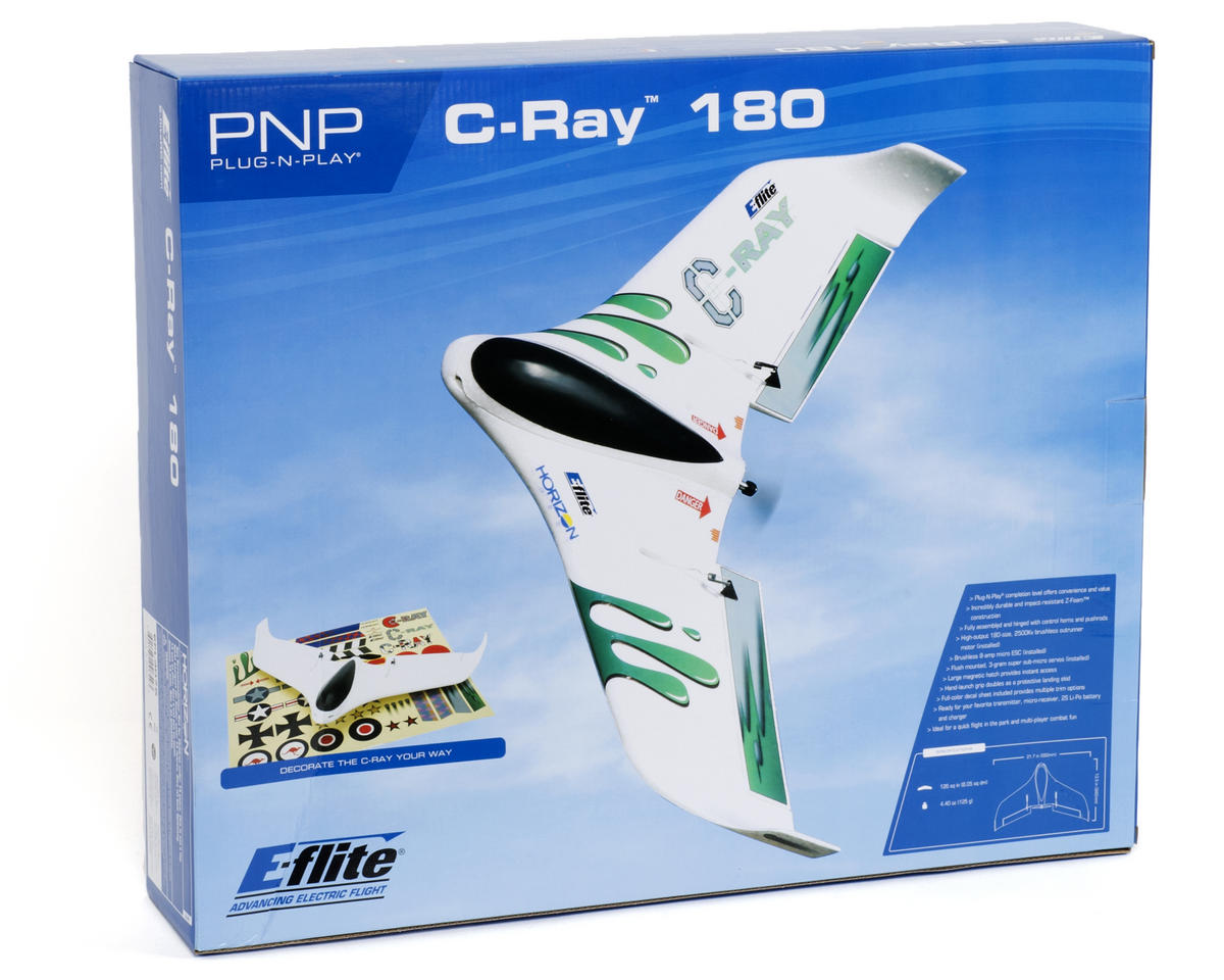 E-flite C-Ray 180 PNP Flying Wing (Plug-N-Play)