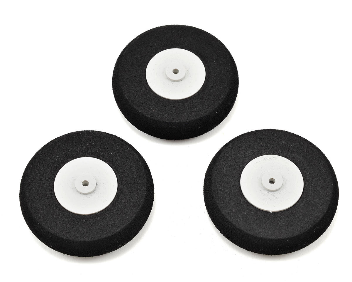 E-flite Apprentice S 15e 65mm Wheel Set (3)